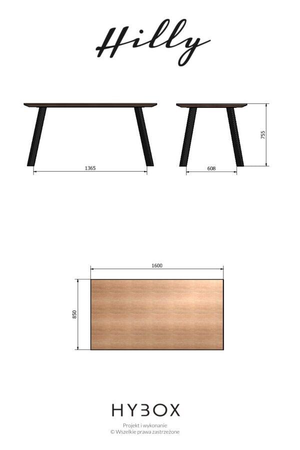 stół obiadowy_HILLY_loft